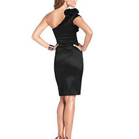 Jessica Simpson Dress, Crafted One Shoulder Cocktail Dress - Dresses - Women - Macy's