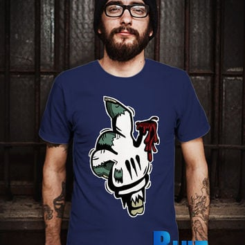MIckey Mouse Zombie Hand Men T-Shirt - Mickey Mouse T-Shirt - Zombie T-Shirt - Disney Design T-Shirt for Men (Various Color Available)