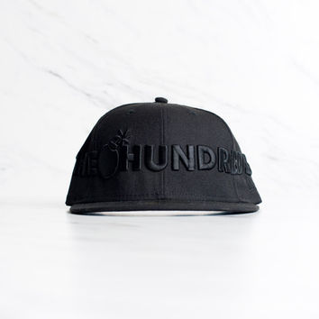 New Era x The Hundreds Logo - 'Black'