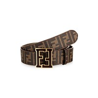 FENDI Popular Ladies Men Casual Smooth Buckle Belt Leather Belt I-A-GFPDPF
