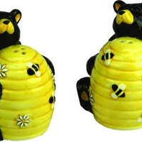 Salt & Pepper Shaker Set - Bear