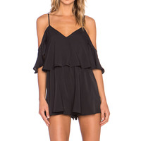 The Fifth Label Daylight Playsuit in Black