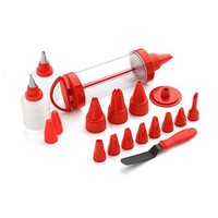 Kuhn Rikon Cake & Pastry Decorating Set Purple 20 Pieces - Free shipping over $100