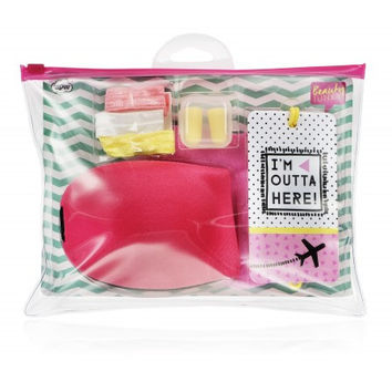 Beauty Junky Travel Comfort Kit with Eye Mask
