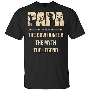 Papa The Bow Hunter The Myth The Legend Funny Hunting