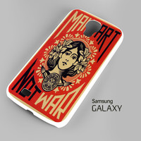 OBEY Make Art Not War Samsung Galaxy S3 S4 S5 Note 3 Cases