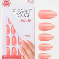 Elegant Touch | Elegant Touch Polishes False Nails - Stiletto Peach at ASOS