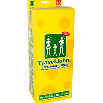 TravelJohn Disposable Urinal (18 pack)