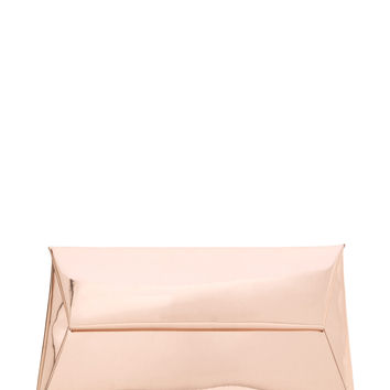 Reflecting Pool Metallic Envelope Clutch GoJane.com