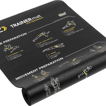 SKLZ Sport Performance Trainer Mat - Self-Guided Exercise Mat