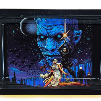 Winter is Here Metal Rolling Tray