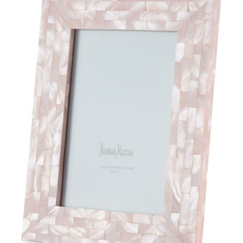 The Jws Collections Mother-of-Pearl Frame, Pink, 5 x 7
