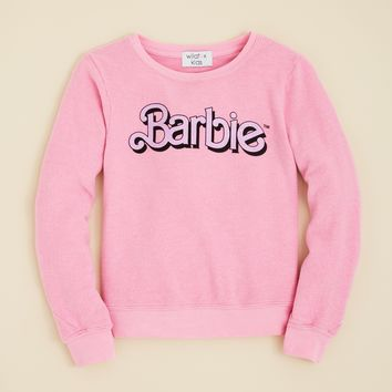 WILDFOX Girls' My Resume Barbie™ Sweatshirt - Sizes 7-14