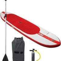 Jobe Inflatable Stand-Up Paddleboard SUP with Pump, Paddle & Repair Kit