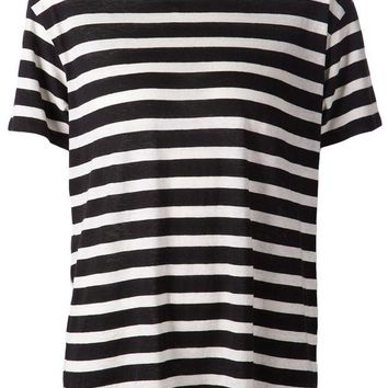 DCCKIN3 R13 horizontal stripe T-shirt