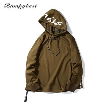 Fashion Hooded Funny Hat printing Men Hoodies Fitness Street wear Hip-hop Tracksuits Pullover Sweatshirts