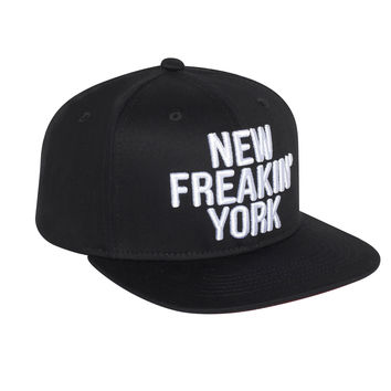 New Freakin' York Baseballcap Hat - Snapback closure (Cotton)