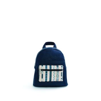 Blue Cork Vegan Backpack