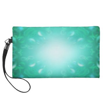 Glow Bubbles Wristlet Purse