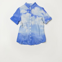 View from Rosella Island Shirt - Seascape Shirt
