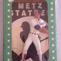 Metz Statue of Red Sox Wade Boggs, Batting Champion of 1986, EXCELLENT unopened vintage baseball collectible