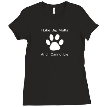 big mutts Ladies Fitted T-Shirt