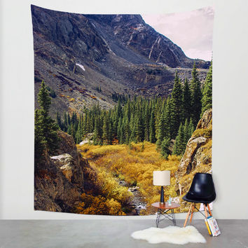 Autumn Colors Wall Tapestry, Colorado Home Decor