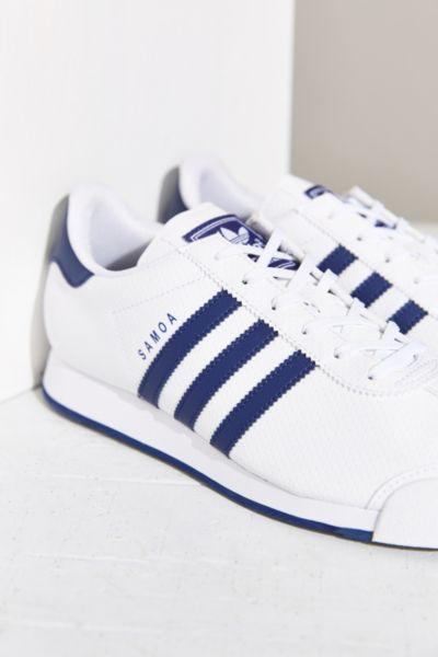 cheap for discount 3b518 068ed adidas Originals Samoa Blue Stripe Sneaker