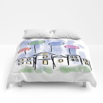 fun days Comforters by abeerhassan