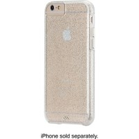 Case-Mate - The Glam Collection Sheer Glam Case for Apple® iPhone® 6 and 6s - Clear/Champagne