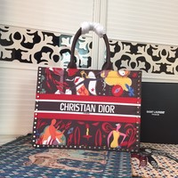 Dior Christian Dior Women Leather Monogram Tote Handbag Shoulder Bag Shopping Bag Messenger Bags Wallet Purses 2020 New Fashion Bags