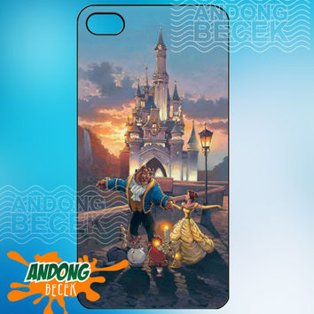 Disney beauty and the beast dancing - iPhone 4/4s/5/5s/5c case - Samsung Galaxy S2/S3/S4 case- Blackberry z10 case - Black or White