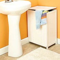 Space-Saving Bathroom Hampers