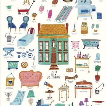 Doll House Art Print