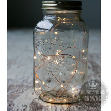 5+ Fairy Lights String lights Rustic Wedding Decor Barn wedding Battery Run 6.6ft ONE FREE!