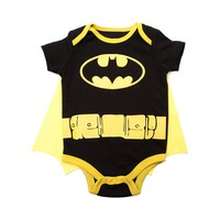 Infant Batman Caped Sleeper