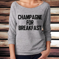 Champagne For Breakfast Tee