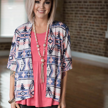 Tribal Oldie Cardigan