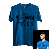 So Much More Room for Activities Men Shirt size S to 2XL Color Royal Blue 1d
