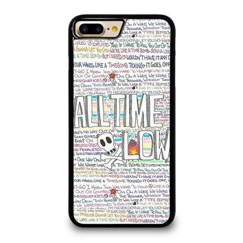 ALL TIME LOW WRITTING iPhone 7 Plus Case Cover
