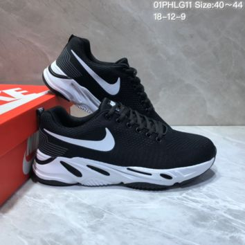 kuyou N826 Nike Air Vapormax 2019 Knit Mesh Running Shoes Black White