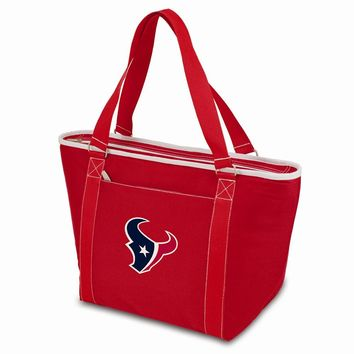 Houston Texans Insulated Red Cooler Tote