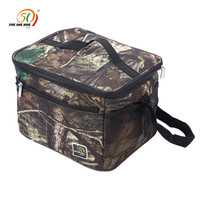 Outdoor Picnic Box Bag Water Resistant Insulated Thermal Picnicr Lunch Bag Cooler Storage Box Tote Unisex for Camping Hiking