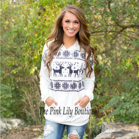 Hats Pullover Hot Sale Winter Christmas Long Sleeve Hoodies [9307408196]
