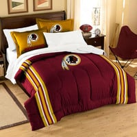 Washington RedSkins NFL Bed in a Bag (Contrast Series)(Full)
