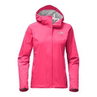 Women's Venture 2 Jacket in Honeysuckle Pink by The North Face - FINAL SALE