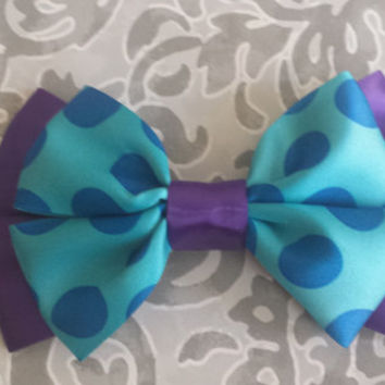 Monster Kittie Hair Bow