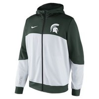 Nike Store. Nike Hyper Elite Tourney Warm-Up (Michigan State) Men's Basketball Hoodie