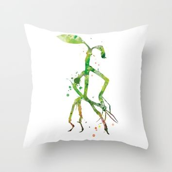 Pickett Bowtruckle Throw Pillow by MonnPrint