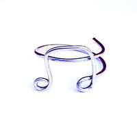 Music Note Ring, Music Ring, Wire Wrap Ring